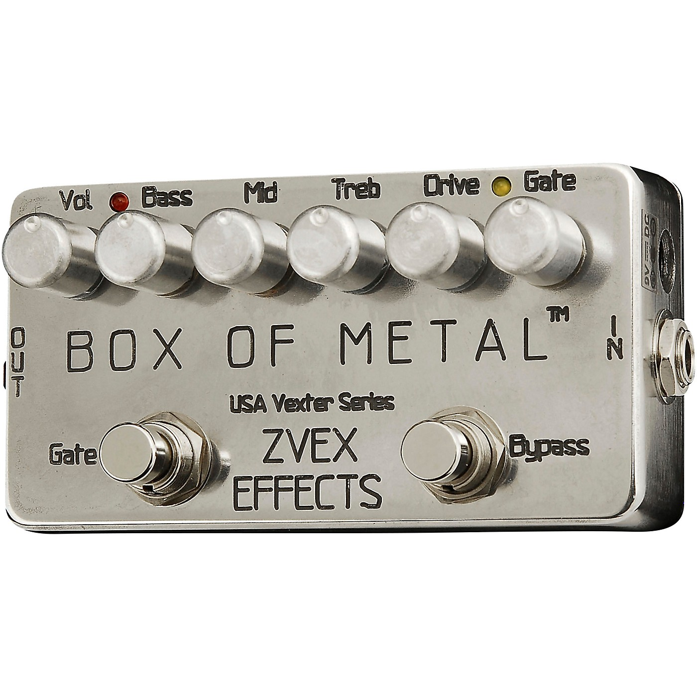 ZVex Box of Metal Vexter Distortion Effects Pedal thumbnail