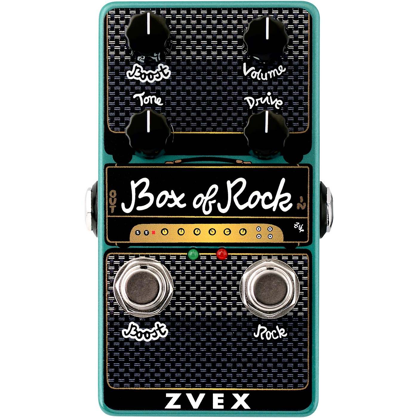 Zvex Box of Rock Vertical Overdrive Effects Pedal thumbnail
