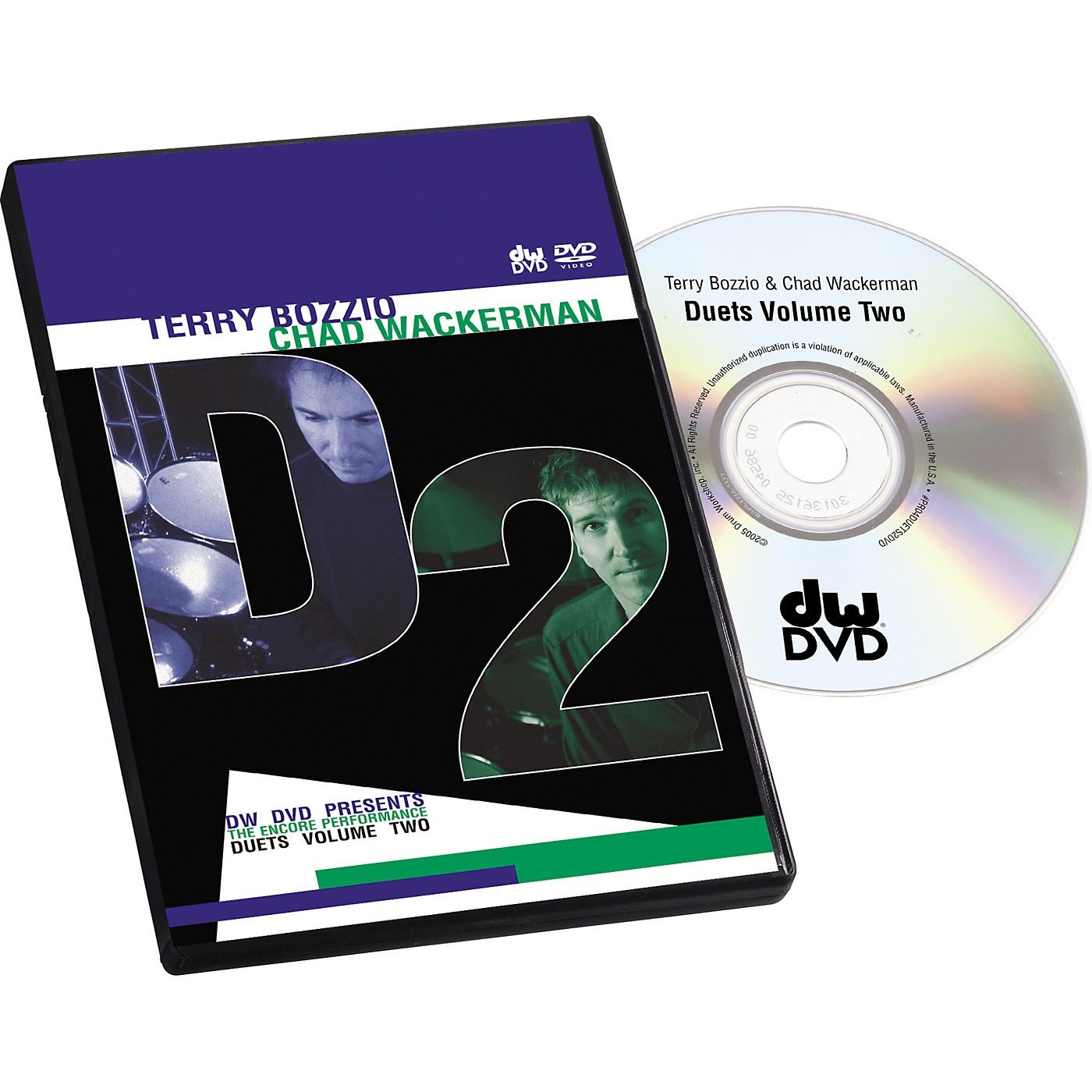 The Drum Channel Bozzio and Wackerman Duets #2 (DVD) thumbnail