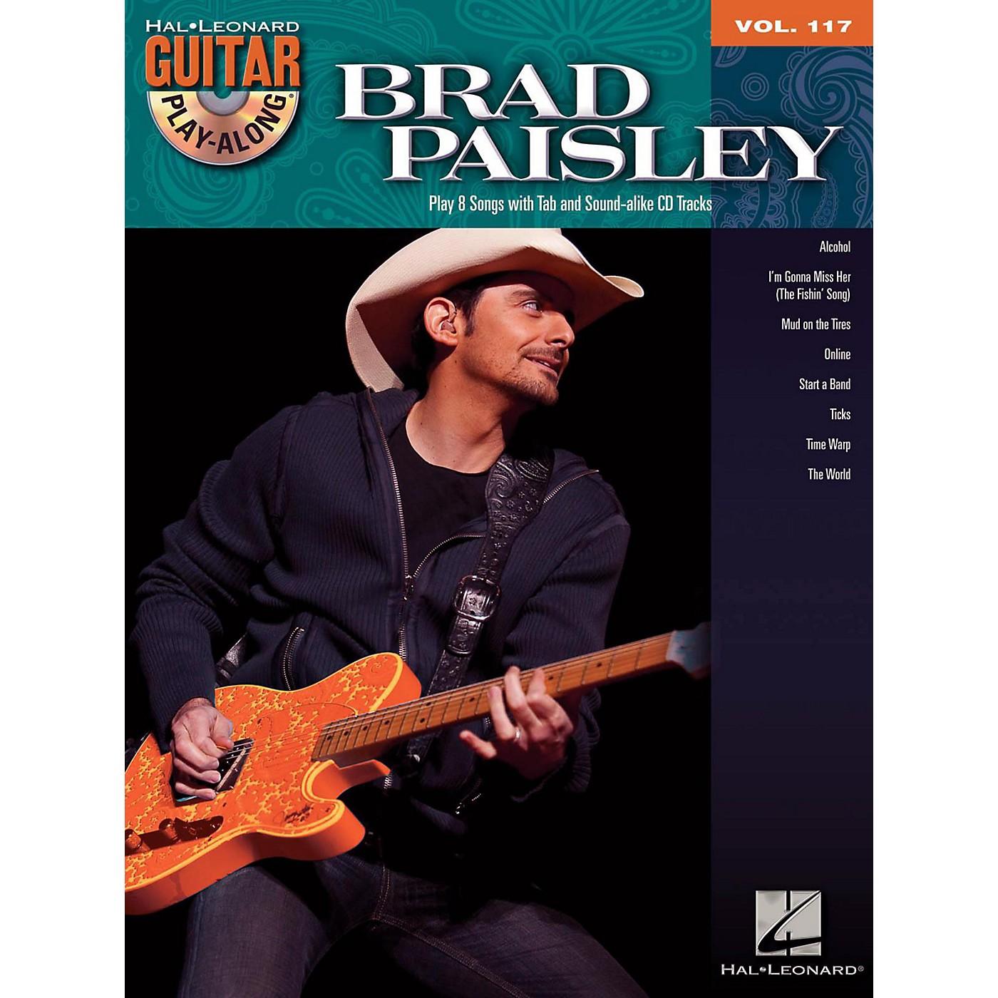 Hal Leonard Brad Paisley - Guitar Play-Along Volume 117 Book/CD thumbnail