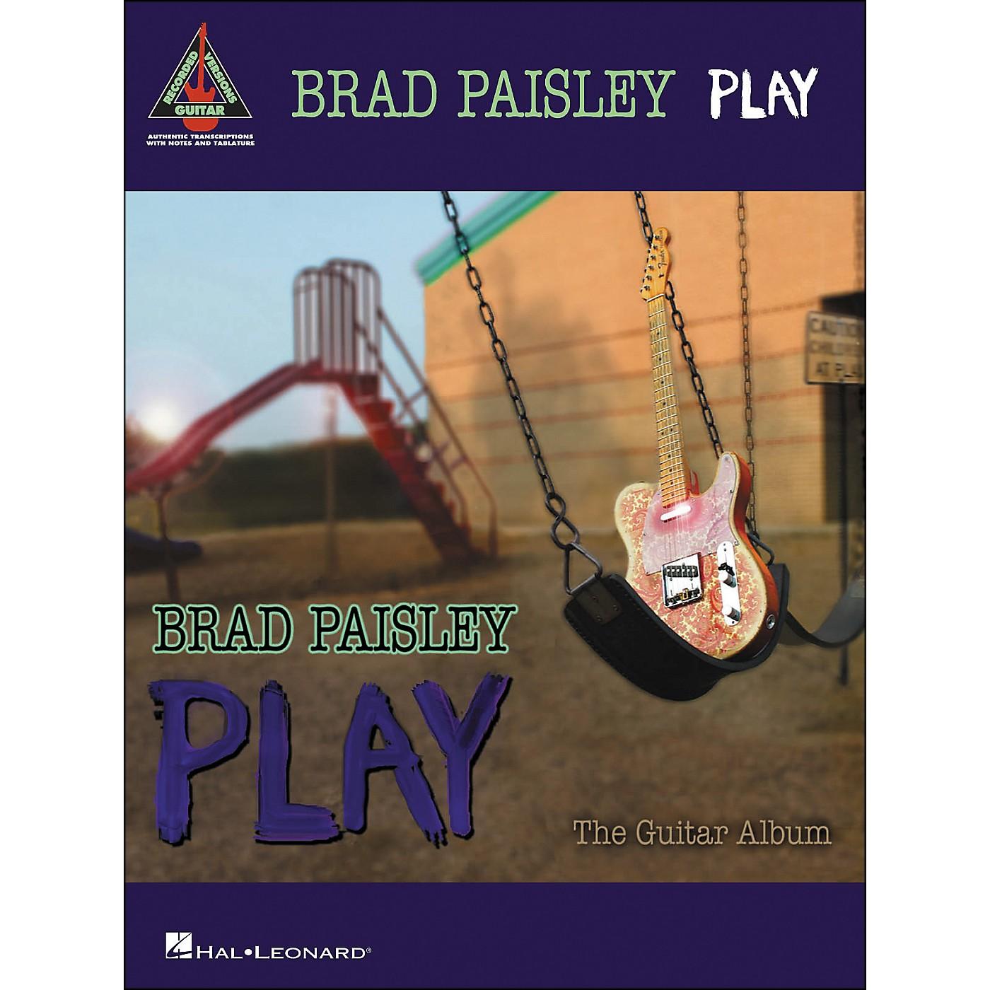 Hal Leonard Brad Paisley - Play (Tab Book) thumbnail