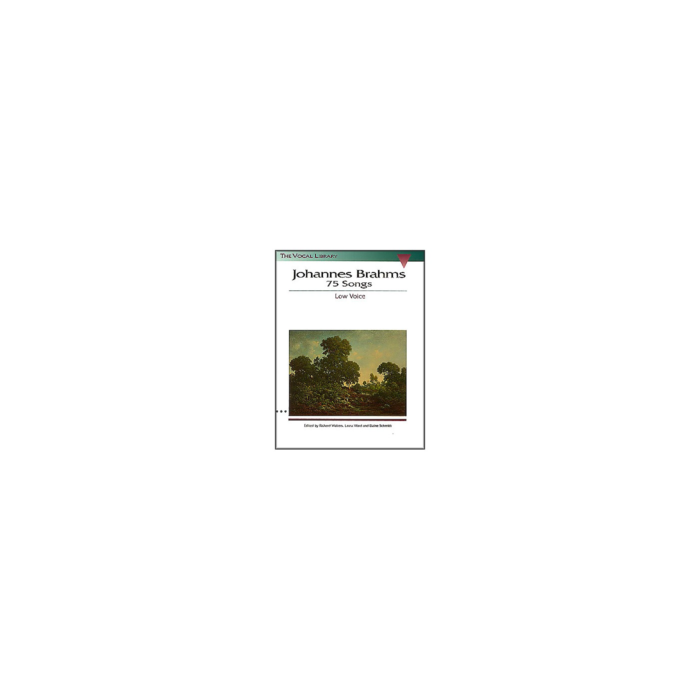 Hal Leonard Brahms 75 Songs for Low Voice thumbnail