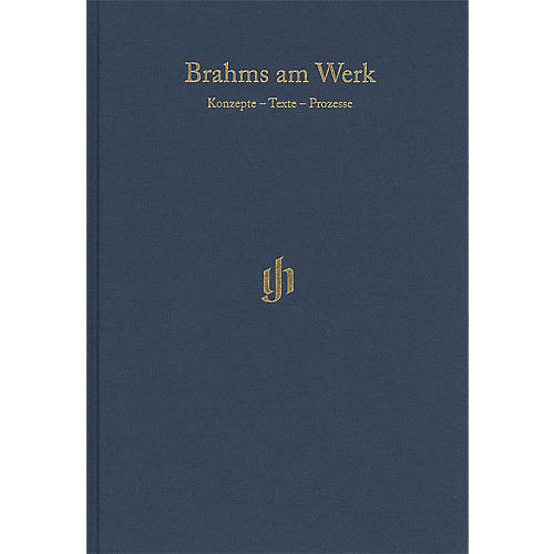 G. Henle Verlag Brahms am Werk Henle Edition Series Hardcover Edited by Michael Struck thumbnail