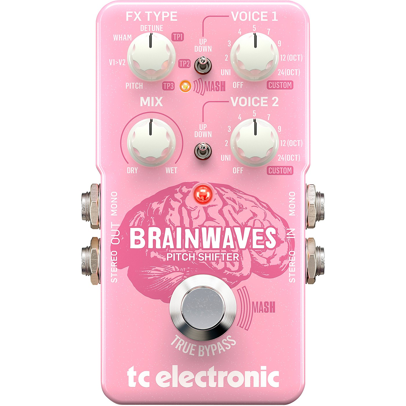 TC Electronic Brainwaves Pitch Shifter Effects Pedal thumbnail