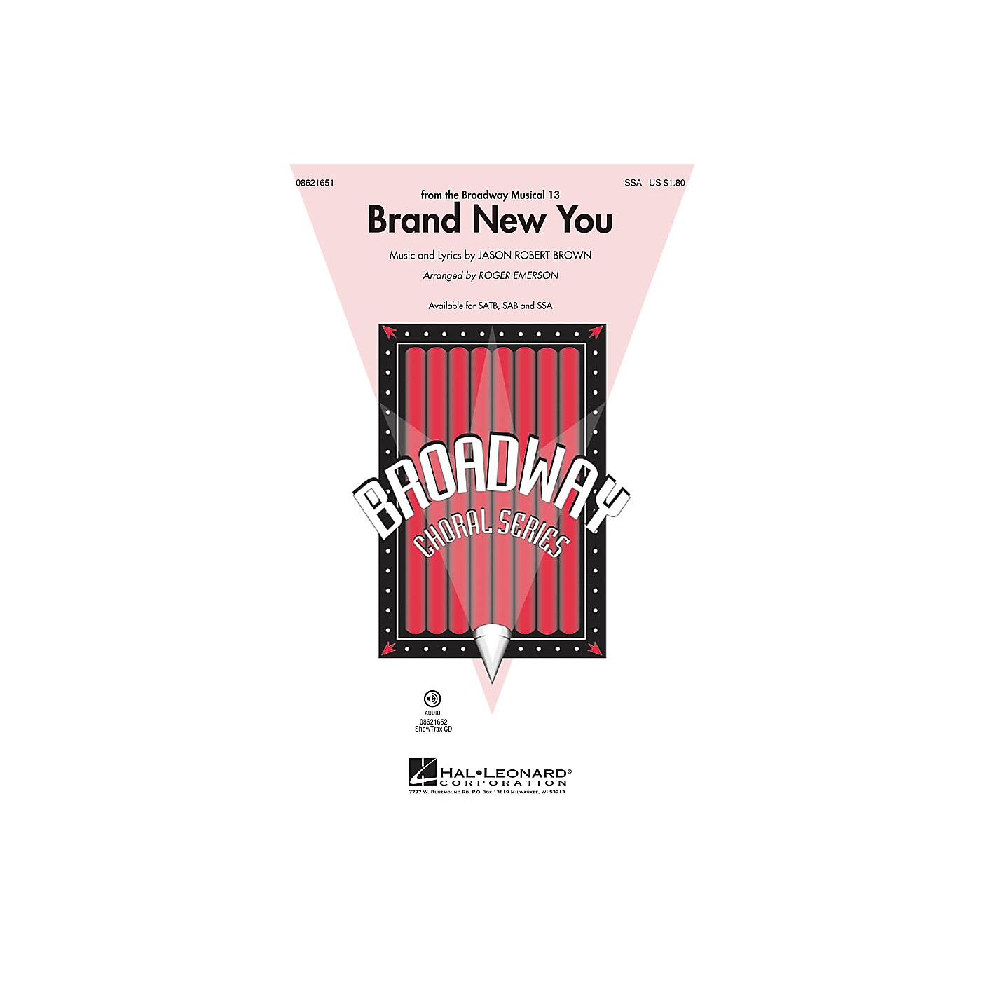 Hal Leonard Brand New You (from 13) SSA arranged by Roger Emerson thumbnail