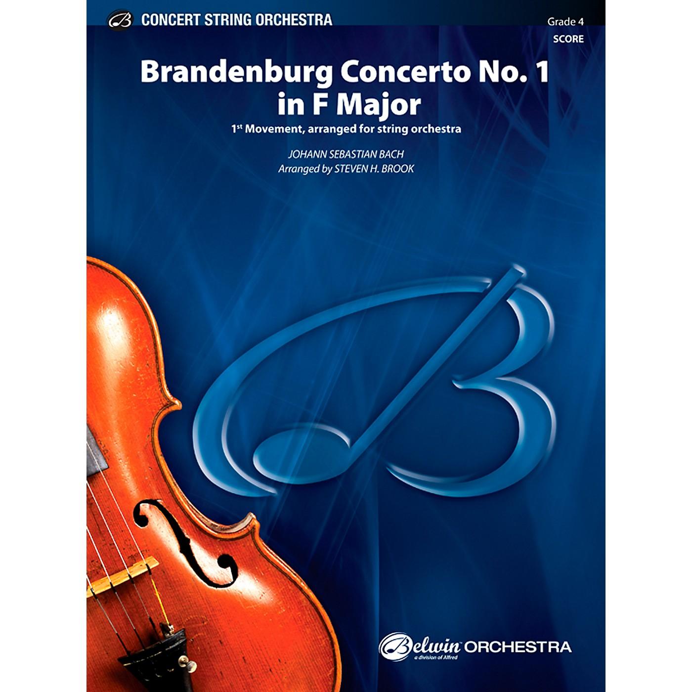 Alfred Brandenburg Concerto No. 1 in F Major Concert String Orchestra Grade 4 Set thumbnail