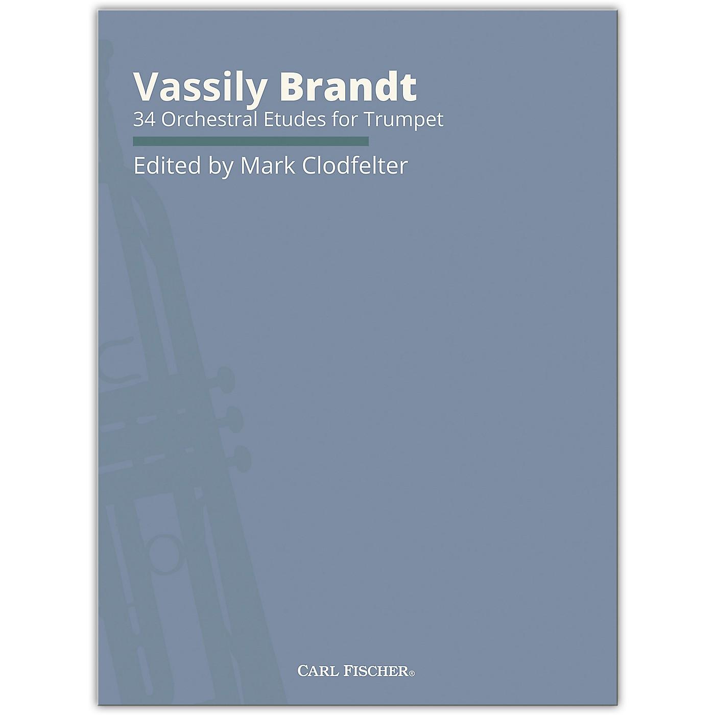 Carl Fischer Brandt Trumpet Etudes thumbnail