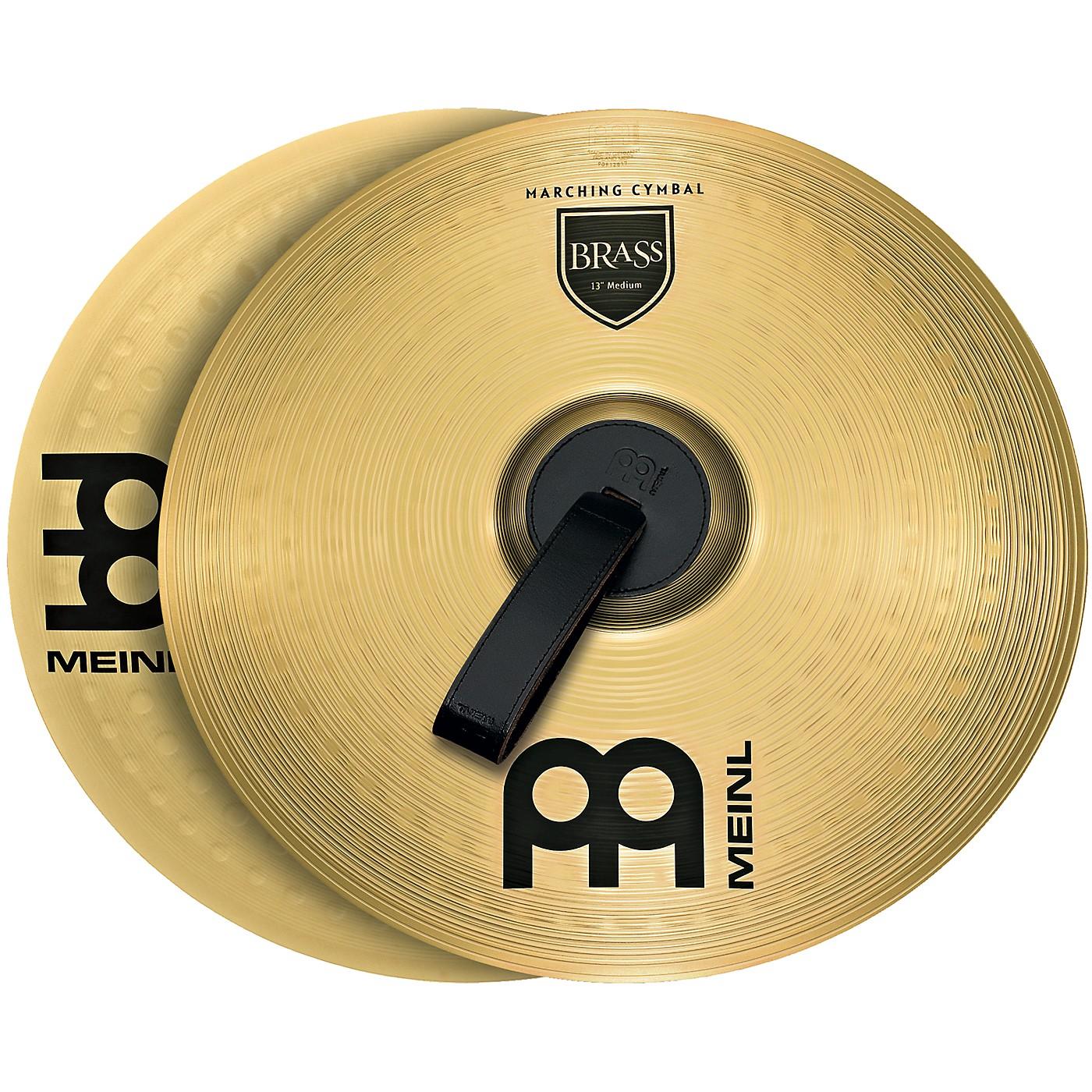 Meinl Brass Marching Medium Cymbal Pair thumbnail