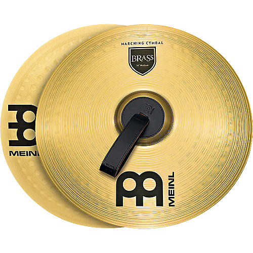 Meinl Brass Marching Medium Cymbal Pair thumbnail