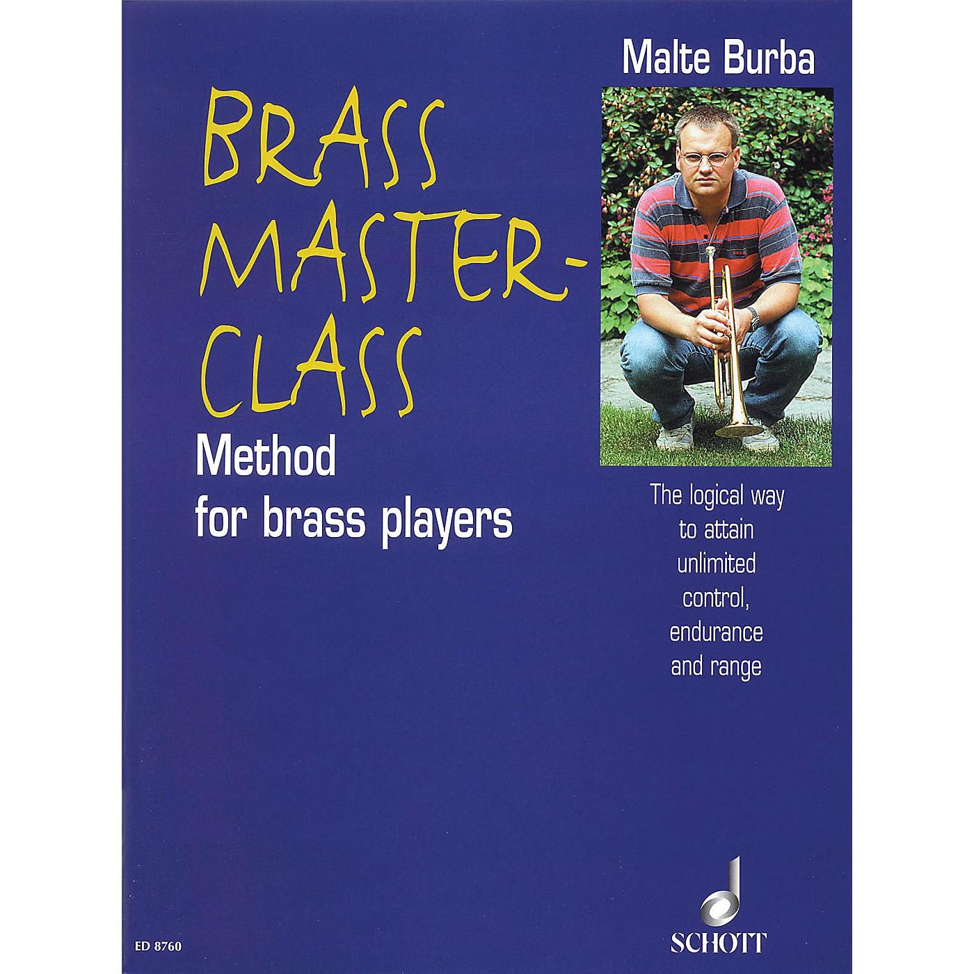 Schott Brass Master-Class (Method for Brass Players Book) Schott Series thumbnail