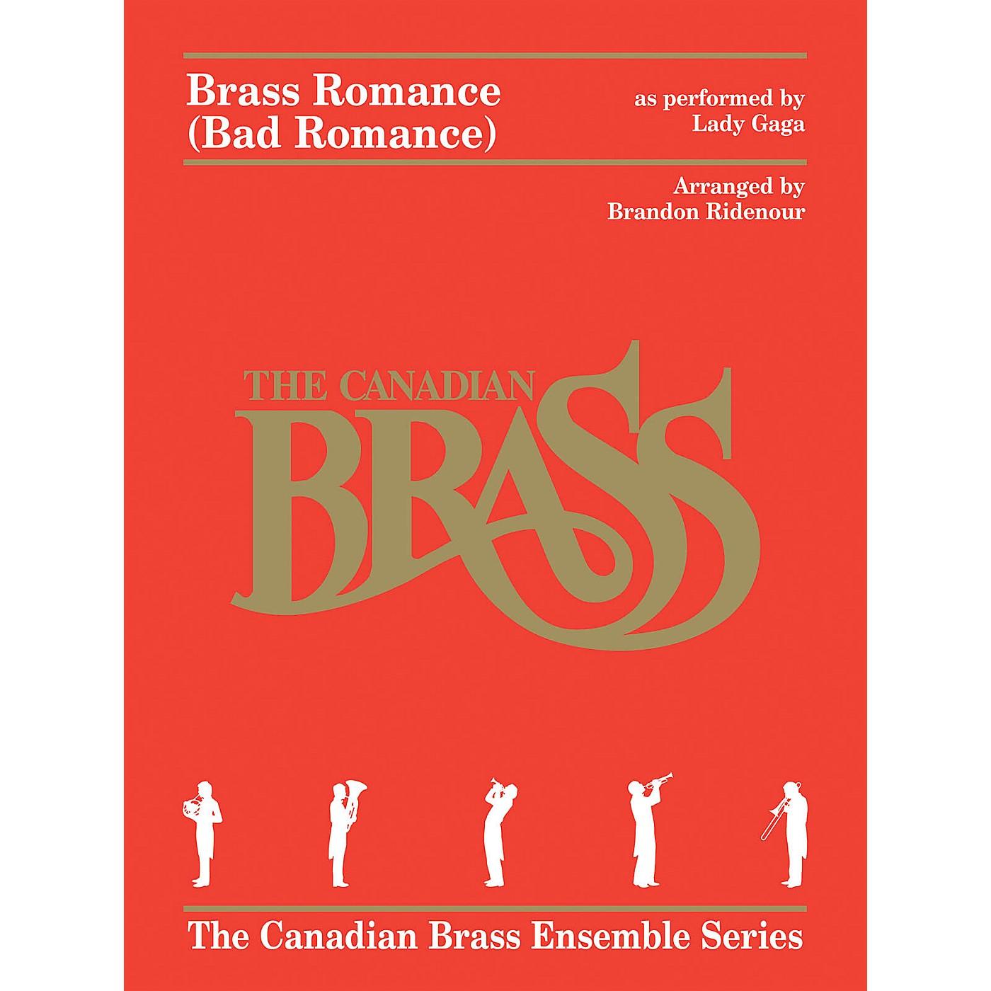 Canadian Brass Brass Romance (Brass Quintet) Brass Ensemble Series by Canadian Brass Arranged by Brandon Ridenour thumbnail