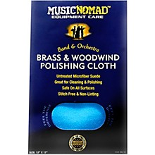 Music Nomad Brass & Woodwind Untreated Microfiber Polishing Cloth