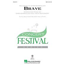 Hal Leonard Brave SAB by Sara Bareilles arranged by Audrey Snyder