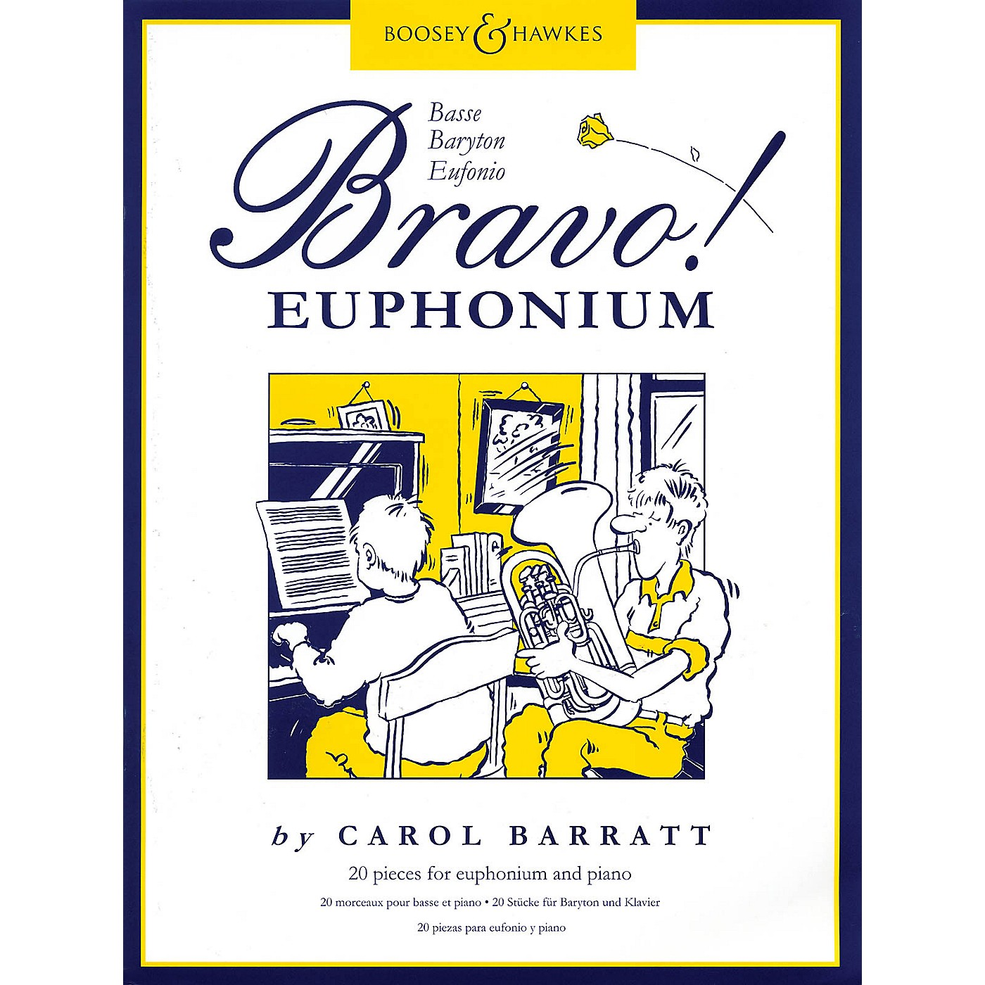 Boosey and Hawkes Bravo! Euphonium (20 Pieces for Euphonium and Piano) Boosey & Hawkes Chamber Music Series by Various thumbnail