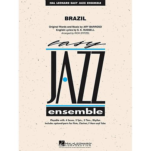 Hal Leonard Brazil - Easy Jazz Ensemble Series Level 2 thumbnail