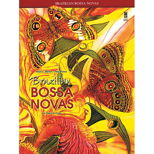 Music Minus One Brazilian Bossa Novas Music Minus One Series Softcover with CD Performed by Jim Odrich thumbnail
