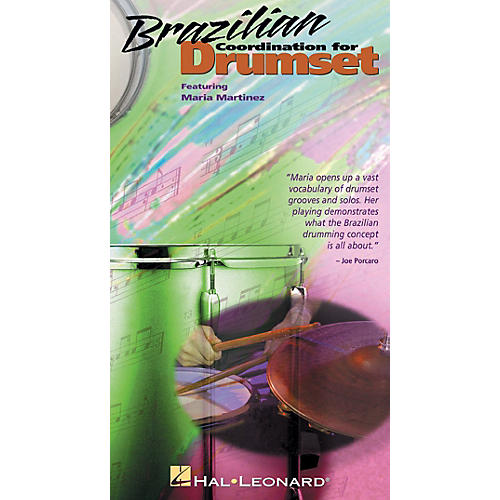 Hal Leonard Brazilian Coordination for Drumset (VHS Video) Videos Series thumbnail