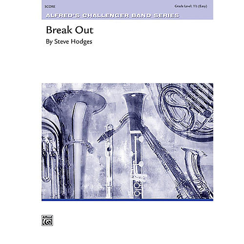 Alfred Break Out Concert Band Grade 1.5 Set thumbnail