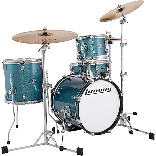 Ludwig Breakbeats by Questlove 4-Piece Shell Pack thumbnail