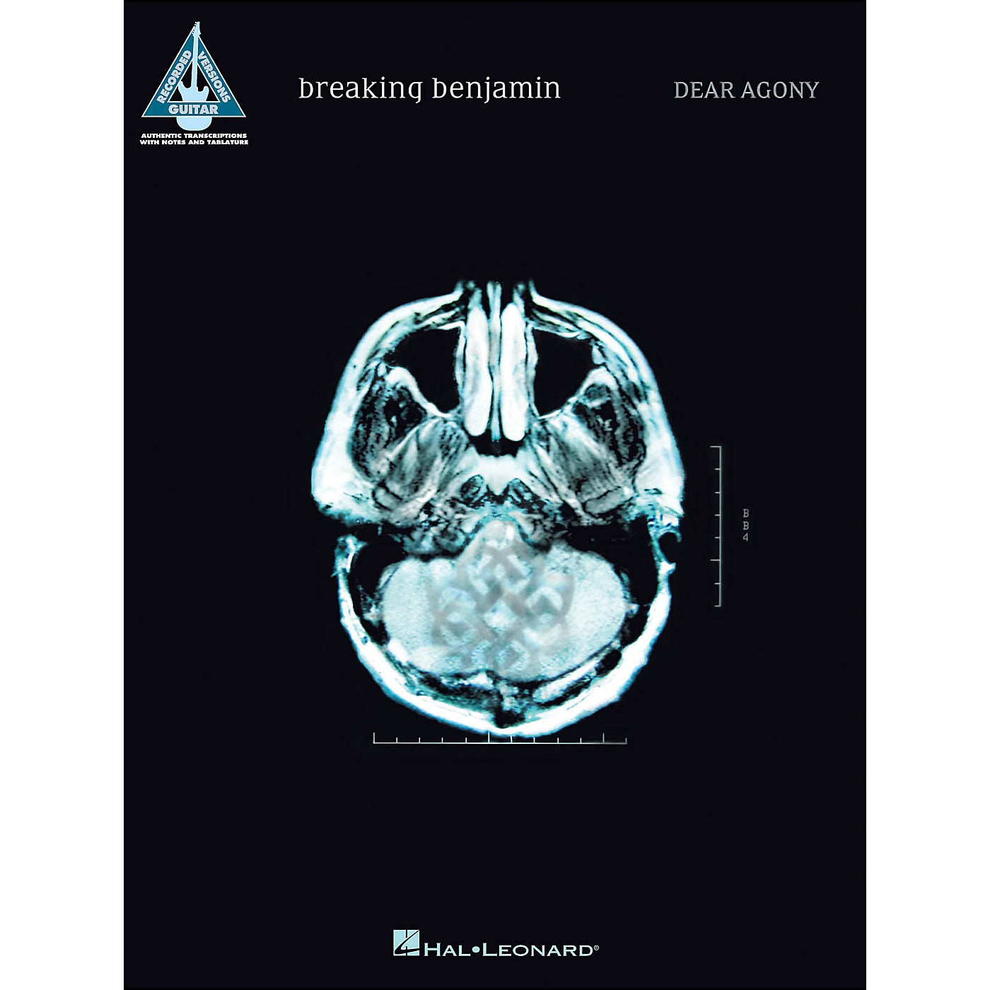 Hal Leonard Breaking Benjamin - Dear Agony Guitar Tab Songbook thumbnail