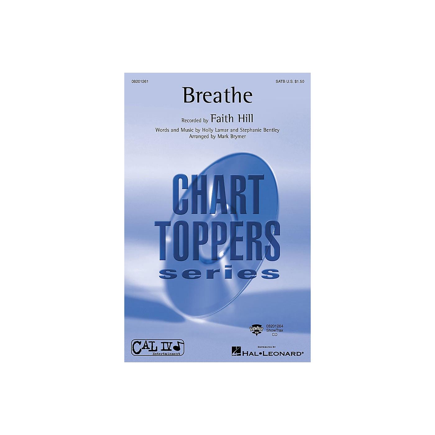 Hal Leonard Breathe ShowTrax CD by Faith Hill Arranged by Mark Brymer thumbnail