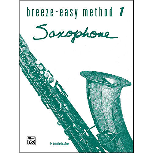 Alfred Breeze-Easy Method for Saxophone Book I thumbnail