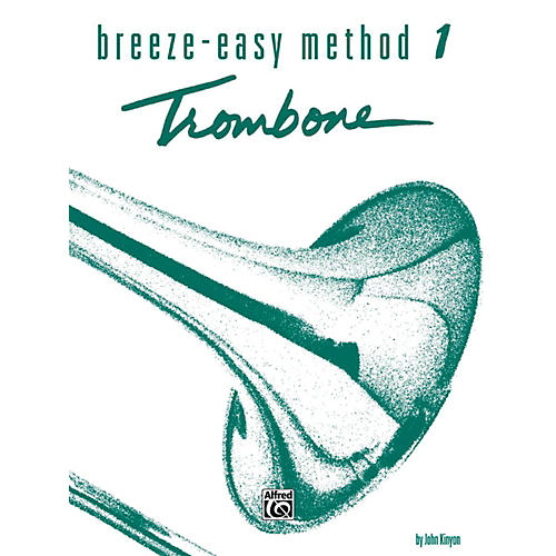 Alfred Breeze-Easy Method for Trombone or Baritone Book I thumbnail