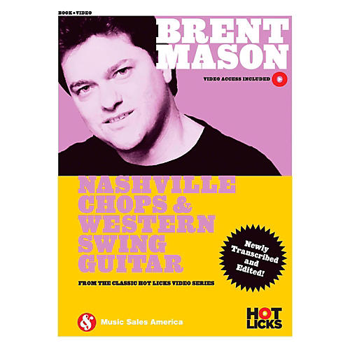 Brent Mason Nashville Chops Western Swing Guitar Hot Licks Book