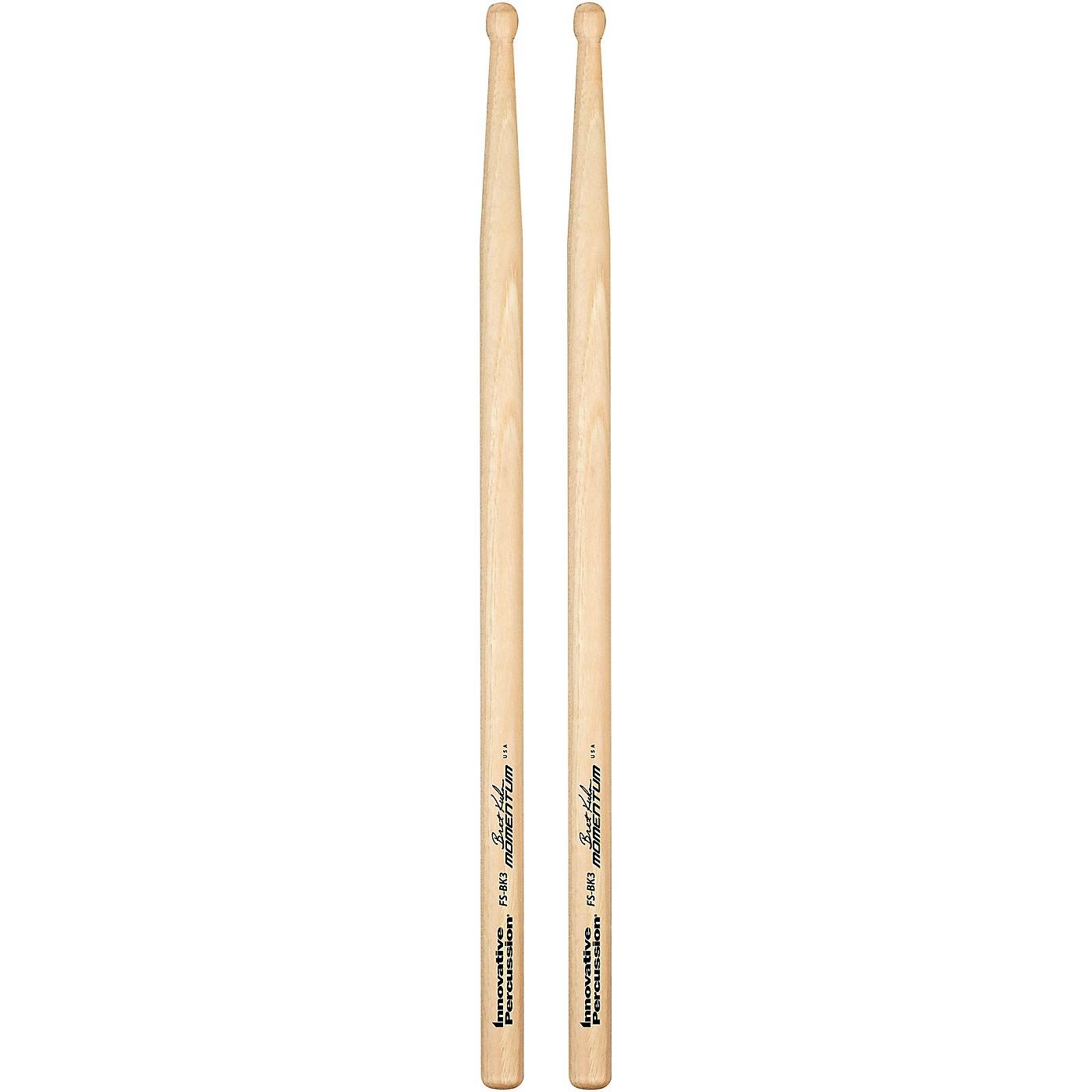 Innovative Percussion Bret Kuhn Model #3 Momentum Hickory Drum Sticks thumbnail