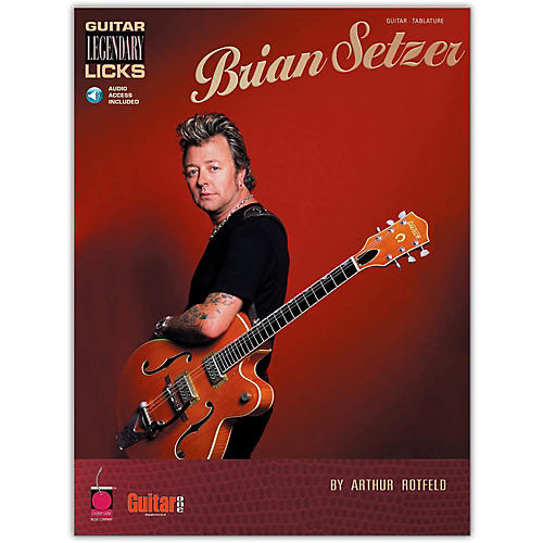 Cherry Lane Brian Setzer - Guitar Legendary Licks (Book/Online Audio) thumbnail