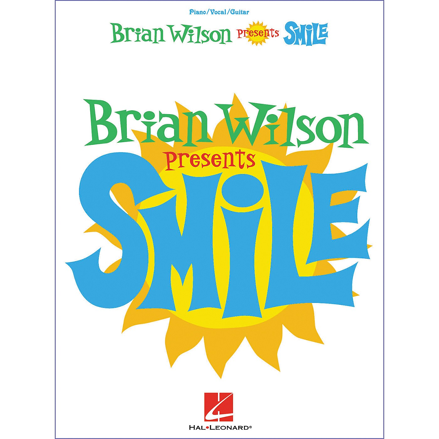 Hal Leonard Brian Wilson - Smile Piano, Vocal, Guitar Songbook thumbnail
