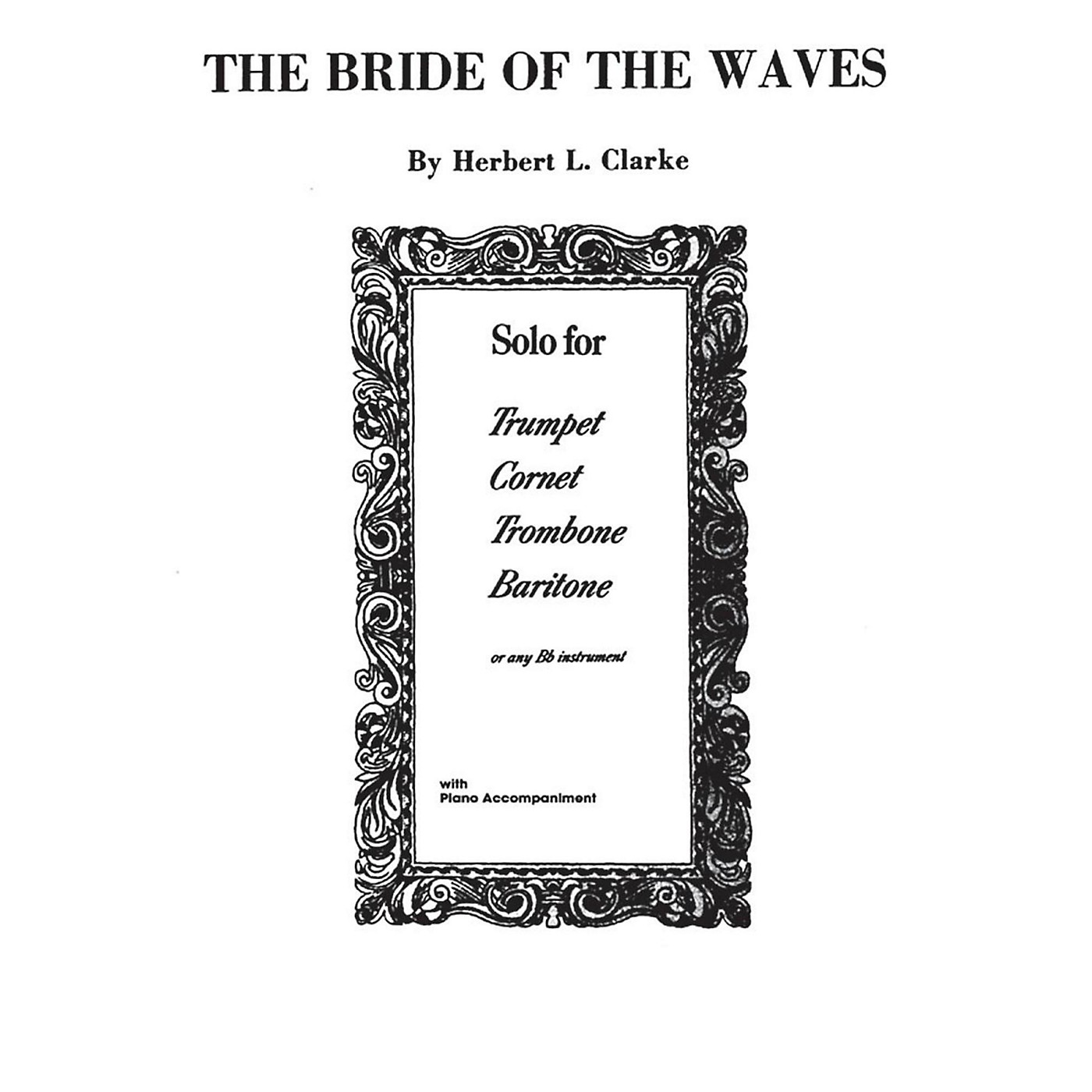 Alfred Bride of the Waves for Trumpet By Herbert L. Clarke Book thumbnail