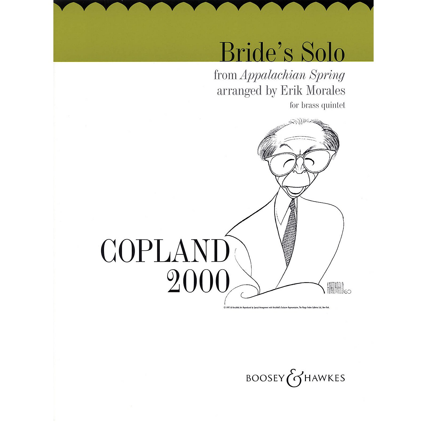 Boosey and Hawkes Bride's Solo from Appalachian Spring Boosey & Hawkes Chamber Music Series by Aaron Copland thumbnail