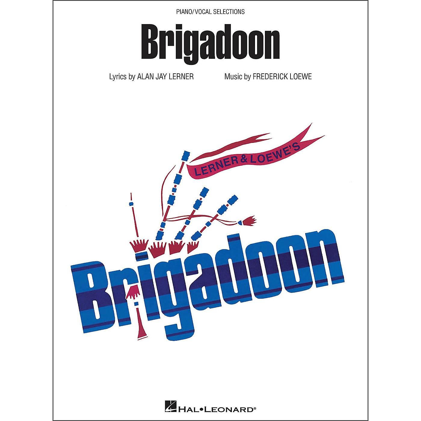 Hal Leonard Brigadoon arranged for piano, vocal, and guitar (P/V/G) thumbnail