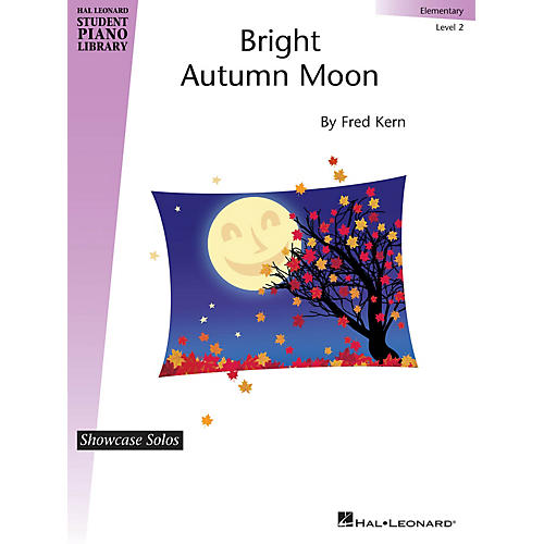 Hal Leonard Bright Autumn Moon Piano Library Series by Fred Kern (Level Elem) thumbnail