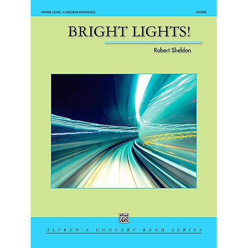 Alfred Bright Lights! Concert Band Grade 4 (Medium Advanced) thumbnail