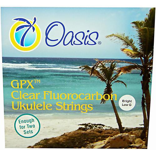 Oasis Bright Low G Ukulele Strings thumbnail