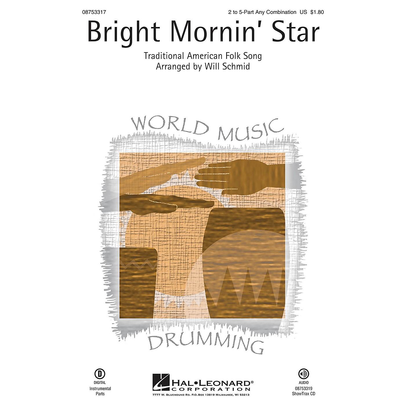 Hal Leonard Bright Mornin' Star ShowTrax CD Arranged by Will Schmid thumbnail