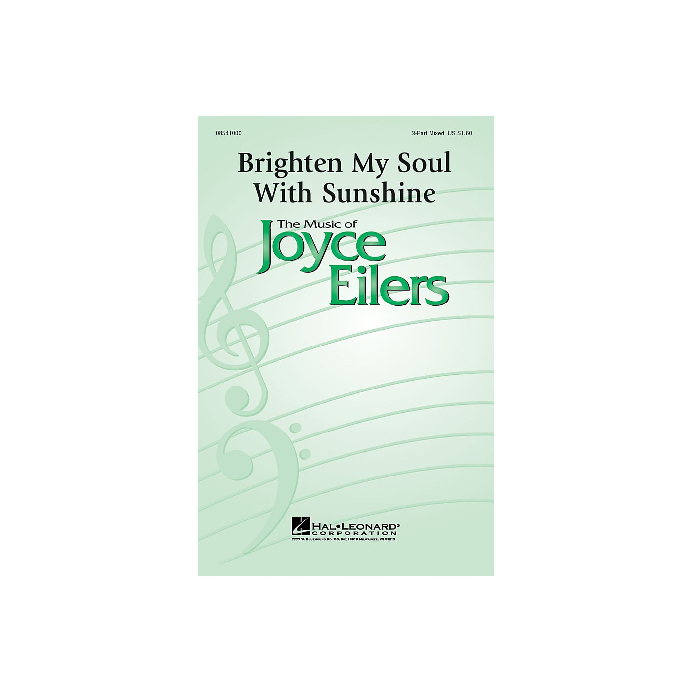 Hal Leonard Brighten My Soul with Sunshine 3-Part Mixed composed by Joyce Eilers thumbnail