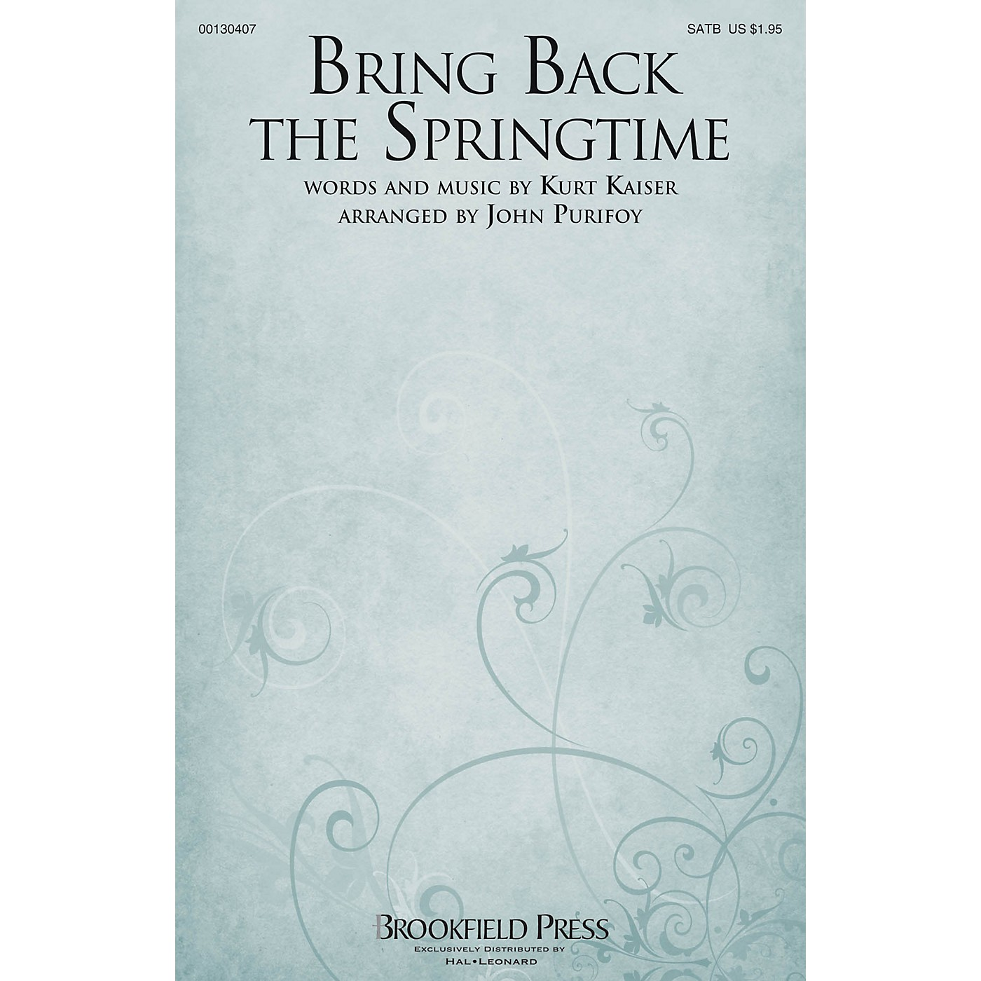 Brookfield Bring Back the Springtime SATB arranged by John Purifoy thumbnail