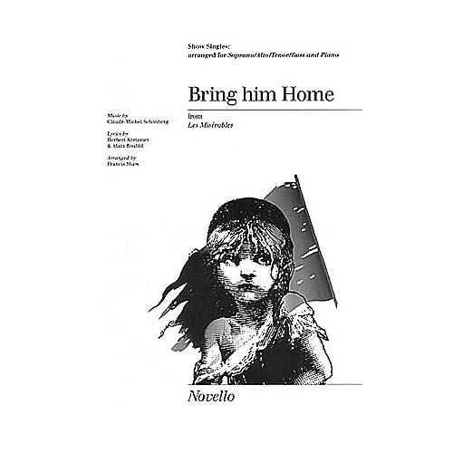 Novello Bring Him Home (from Les Misérables) (Show Singles) SATB Arranged by Francis Shaw thumbnail