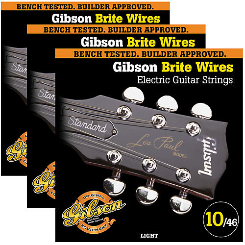 Gibson Brite Wires Light Guitar Strings thumbnail