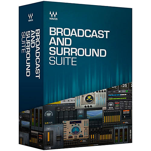 Waves Broadcast and Surround Suite thumbnail