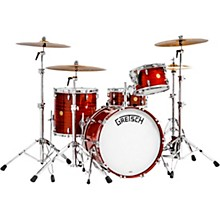 "Gretsch Drums Broadkaster 135th Anniversary 4-Piece Shell Pack with 22"" Bass Drum in Classic Mahogany"