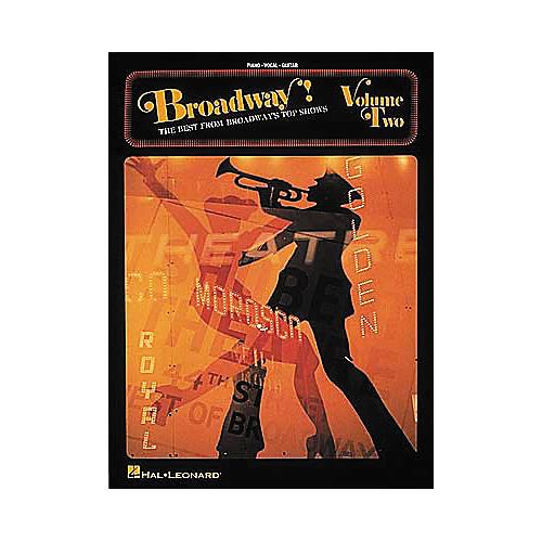Hal Leonard Broadway! - Volume 2 Piano, Vocal, Guitar Songbook-thumbnail
