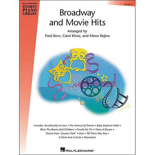 Hal Leonard Broadway And Movie Hits Level 5 Book Hal Leonard Student Piano Library thumbnail