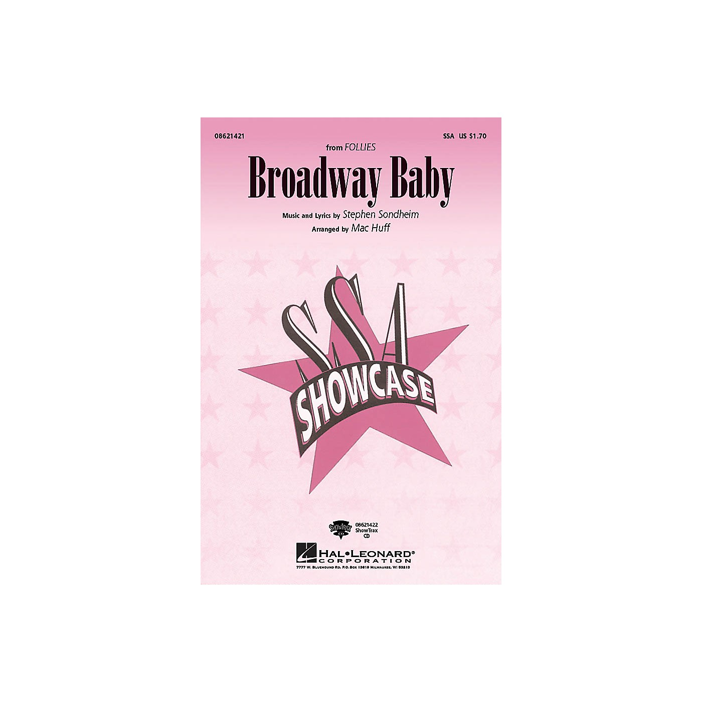 Hal Leonard Broadway Baby (from Follies) ShowTrax CD Arranged by Mac Huff thumbnail