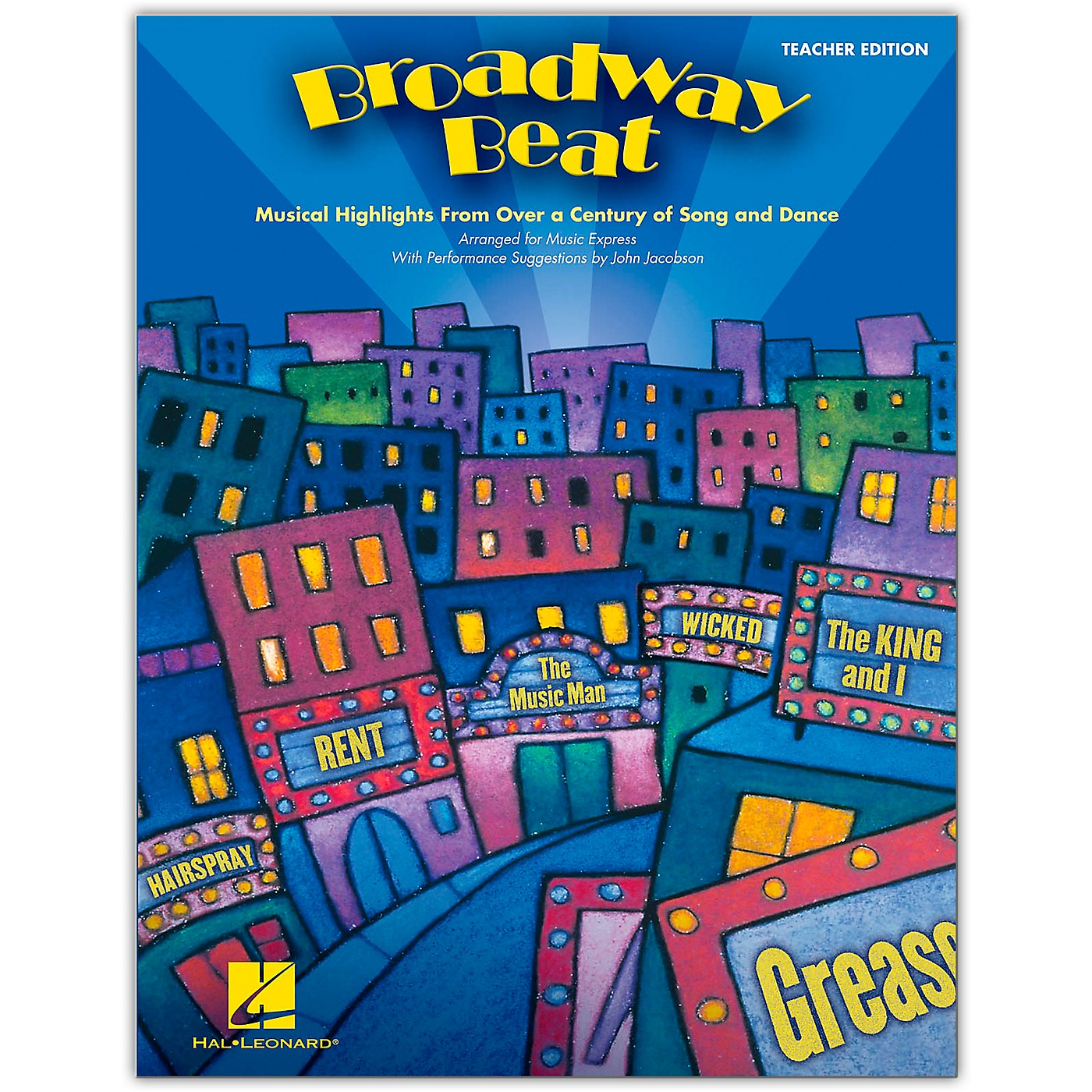 Hal Leonard Broadway Beat - Musical Highlights from Over a Century of Song and Dance (Classroom Kit) thumbnail
