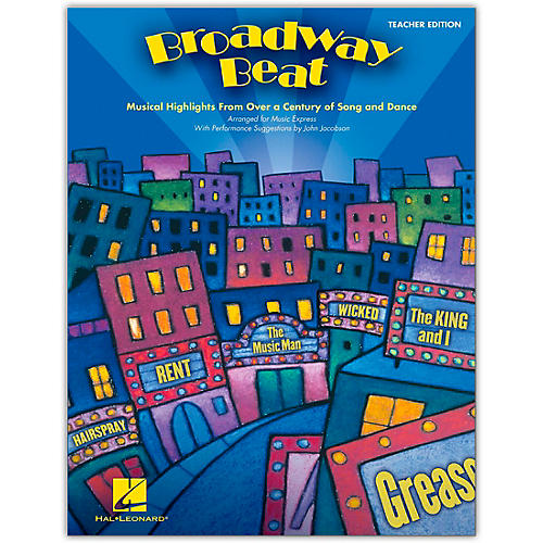 Hal Leonard Broadway Beat - Musical Highlights from Over a Century of Song and Dance Classroom Kit-thumbnail