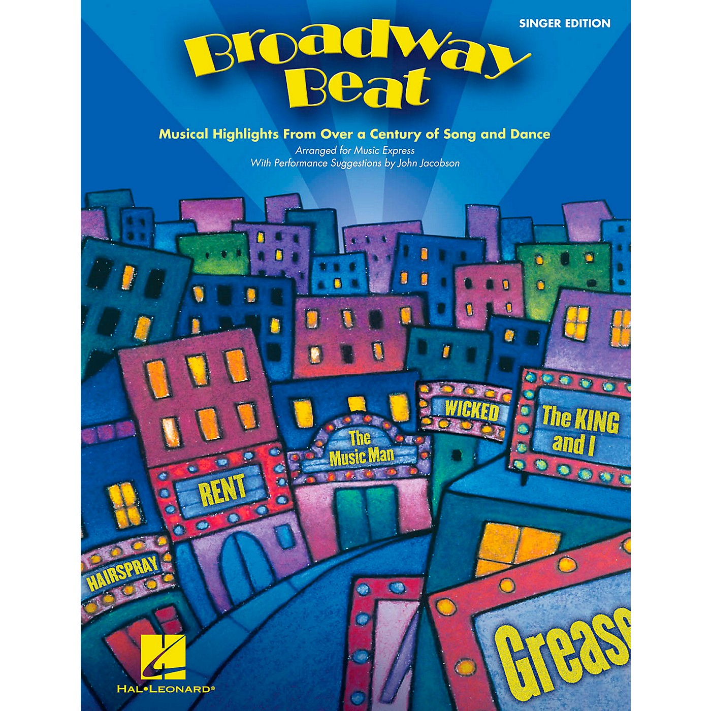 Hal Leonard Broadway Beat - Musical Highlights from Over a Century of Song and Dance, Singer's Edition (20 Pak) thumbnail